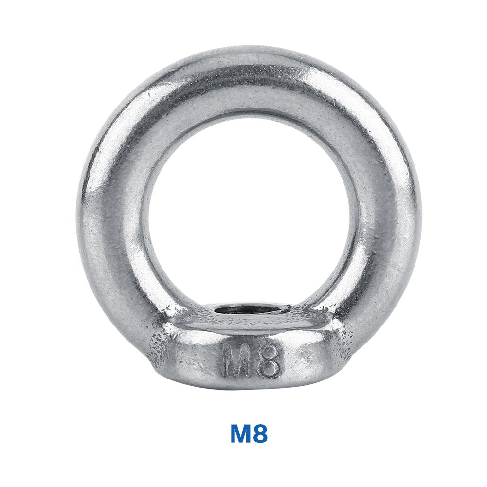 and Quantity MarineNow 316 Stainless Steel Jaw Jaw Turnbuckle Open Body with Locking Nuts Choose Size M5, M6, M8, M10, M12, M14 1, 2, 4 or 6 Pack