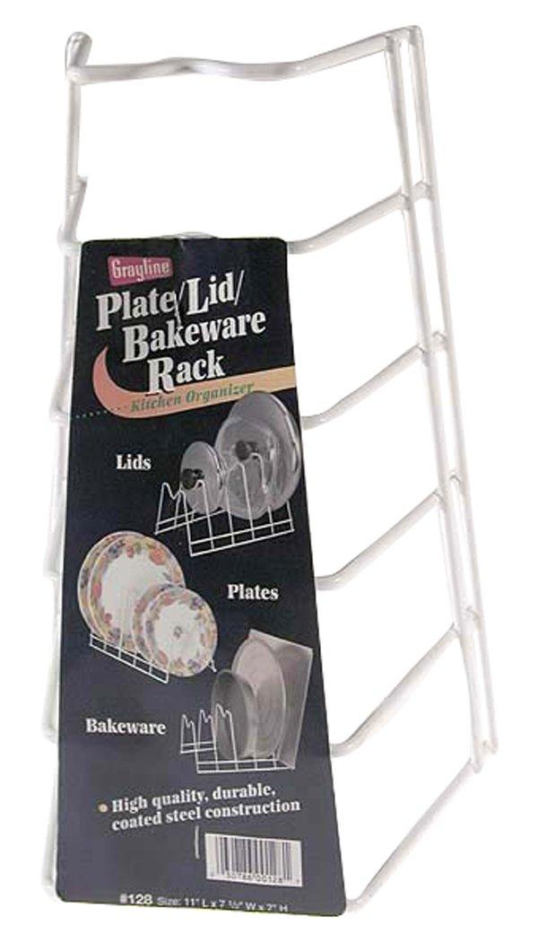 Grayline 40128, Lid/Plate Rack, White