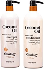 Oliology Nutrient Rich Coconut Oil Shampoo and Conditioner