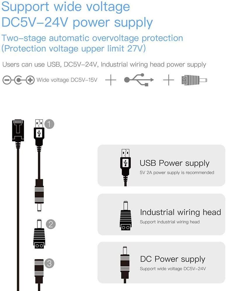 White Lorchwise Mini Wireless Bridge Router Wireless to Wired WiFi Relay Routing AP Transmit Data to PLC