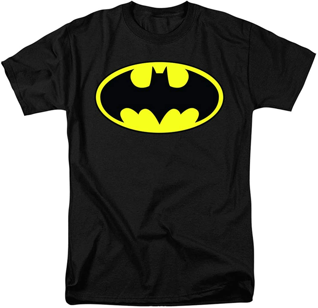 Batman Classic Logo T Shirt & Stickers