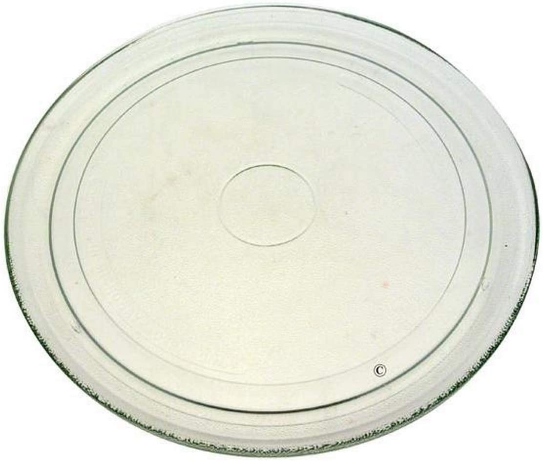 Plato para Microondas, 272 mm de diámetro, para Whirlpool MWD 202/WH, AMW 204/1WH, MWD 302/WH, MWD 246; mod. 480120101083 (original: 481246678398)