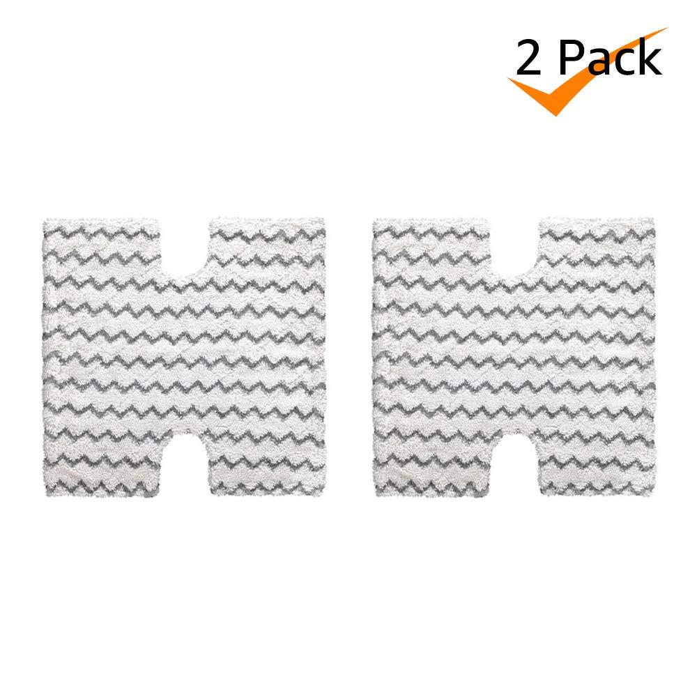 BonusLife Washable Steam Mop Pads for Shark S5001 S5002 S5003 S6001 S6002 S6003 S3973 XTP184, 2 Pack Bonus Life