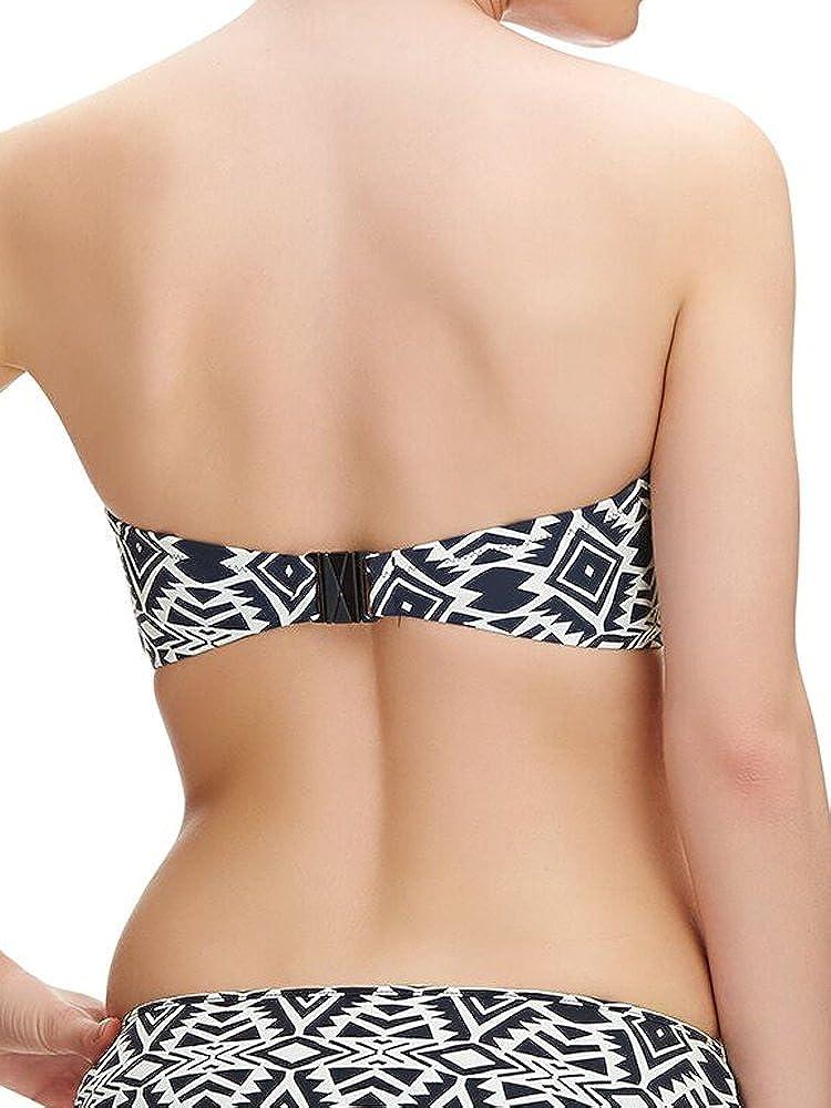 Fantasie Beqa Padded Balcony Bikini Top 6346 Underwired New Womens Swimwear