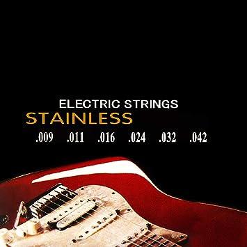 OcioDual Nickelplated Juego De Cuerdas para Guitarra Electrica ...