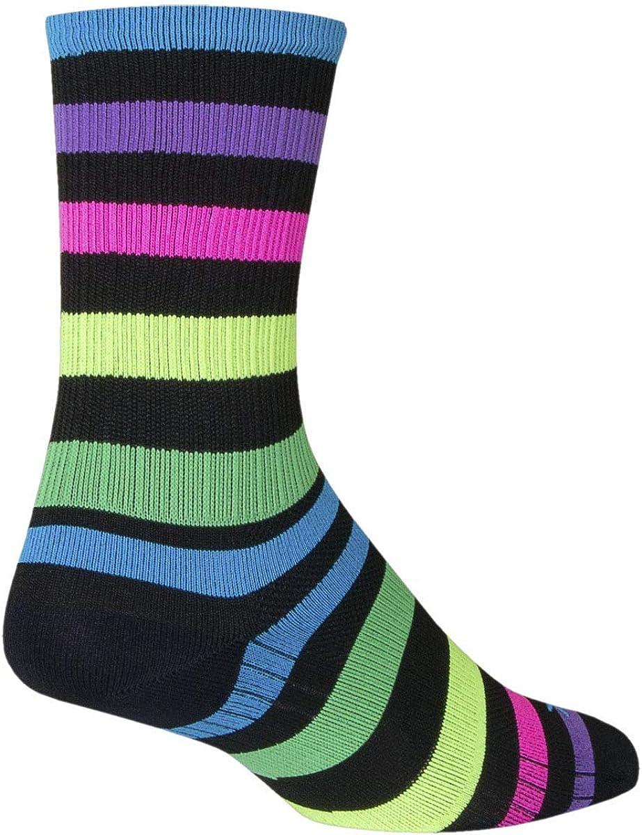 SockGuy Night Bright SGX Performance Socks