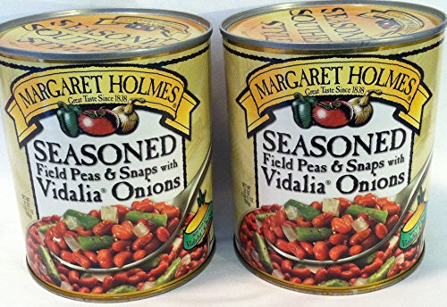 Snap Green Beans - Margaret Holmes Seasoned Peas with Vidalia Onions 2-27 Oz Cans
