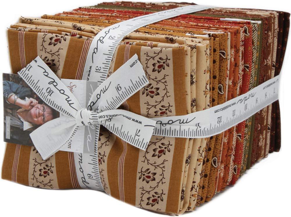 Spice It Up 40 Fat Quarter Bundle by Jo Morton for Moda Fabrics