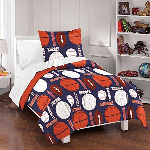 Dream Factory All Sports Comforter Set, Full/Queen,