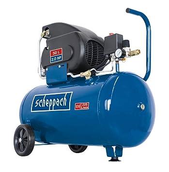 Berühmt Scheppach Kompressor HC60 (1500 W, 50 L, 10 bar, Ansaugleistung #AD_93