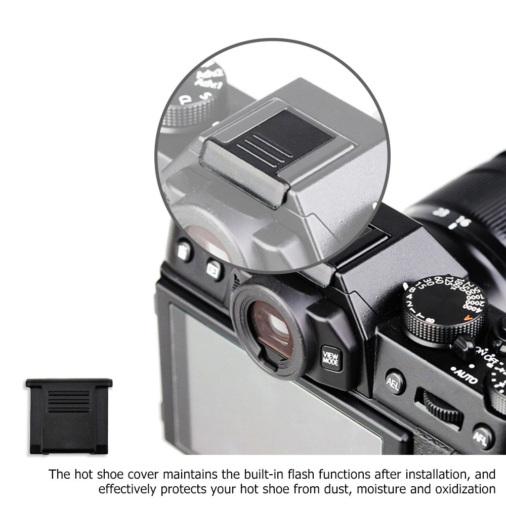 2x Screen Protector Fujifilm X-E3 Protection Film Crystal-Clear Screen Guard