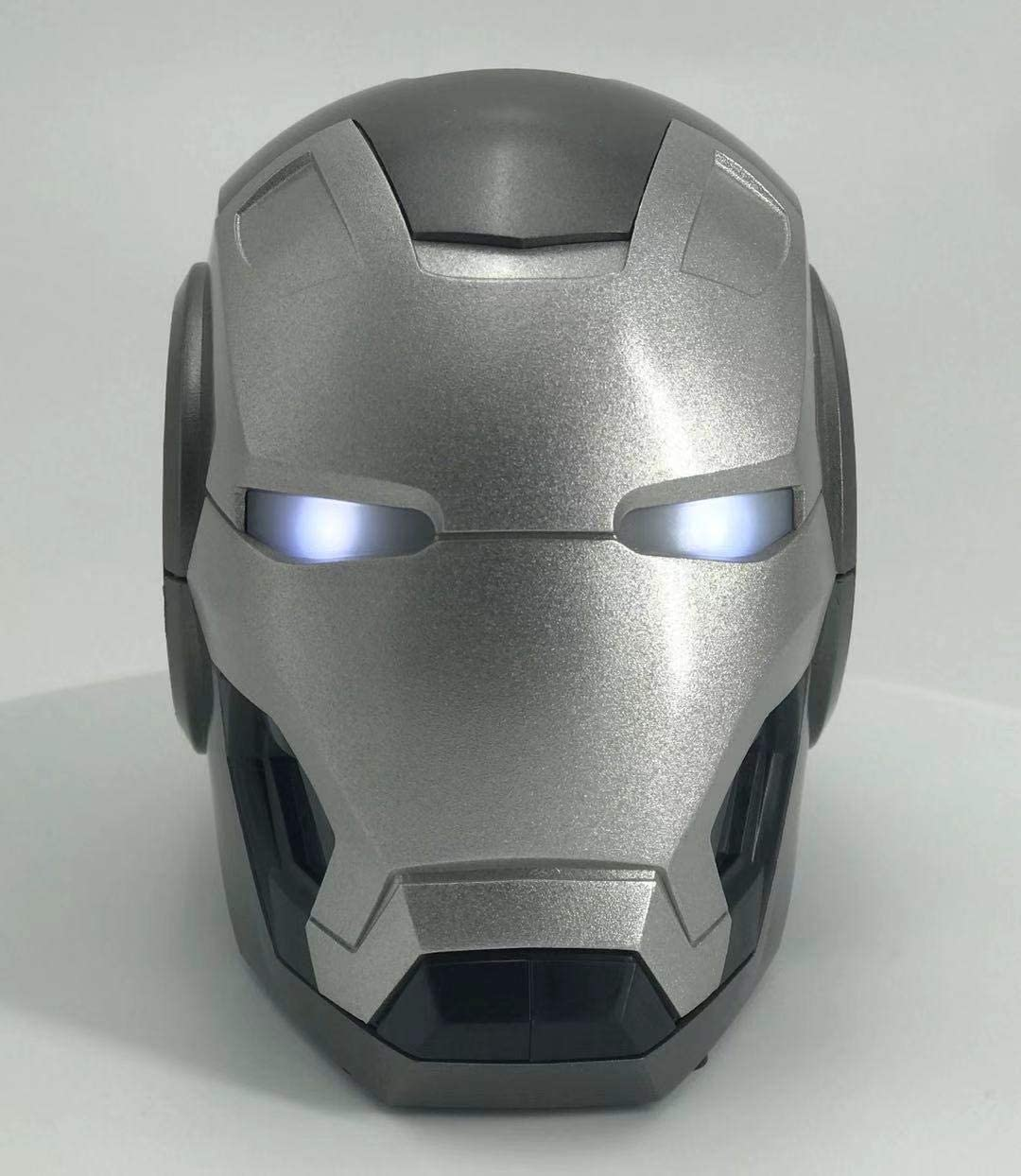 R Noble Iron Man Bluetooth Wireless Speaker Silver