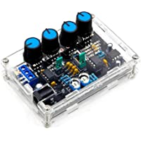 Signal Generator Multifunktionell Low Frequency High Precision Function DIY Kit ICL8038 med Akryl Shell Black Signal…