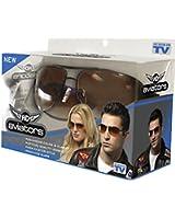 HD Vision Aviators Sunglasses- 2 Pack