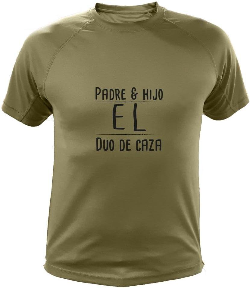 AtooDog Camiseta de Caza, Padre & Hijo El Duo de Caza, Regalo Día del Padre