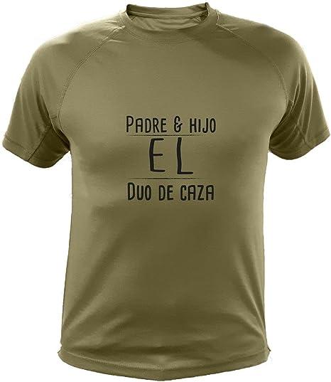 AtooDog Camiseta de Caza, Padre & Hijo El Duo de Caza, Regalo Día del Padre: Amazon.es: Deportes y aire libre