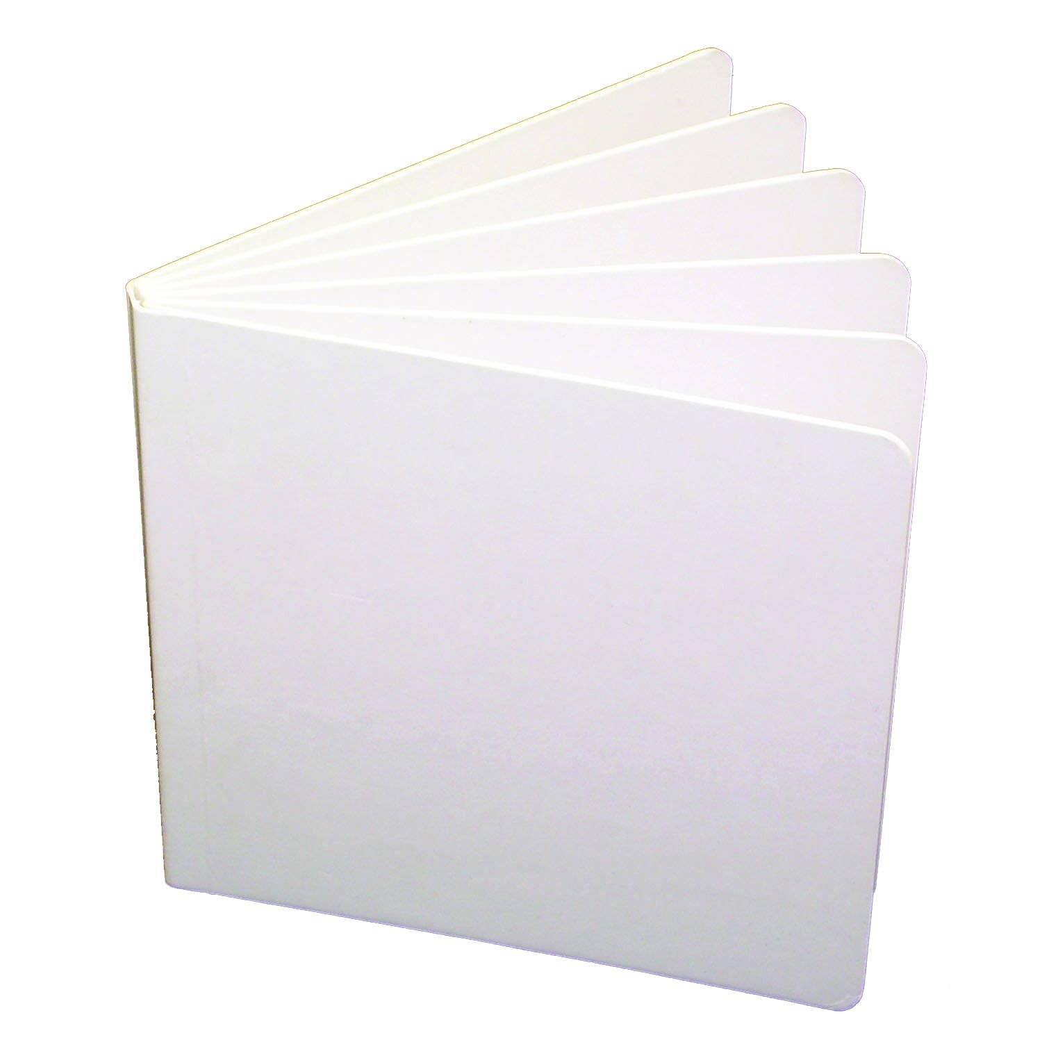 Ashley Productions ASH10705BN Hardcover Blank Book, 11'' x 8-1/2'', Grade 2.4'' Height, 9'' Wide, 11'' Length, White (Pack of 6)