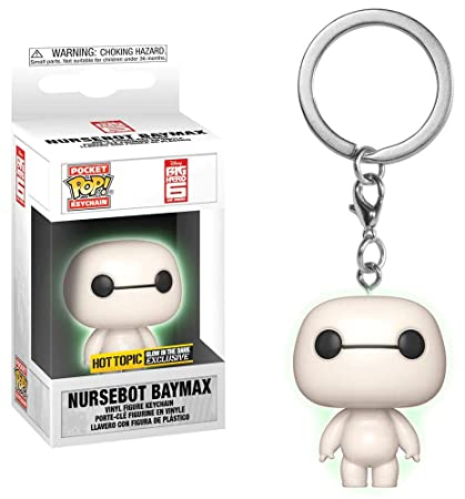 Funko POP! Keychain - Disney: Big Hero 6 - Nursebot Baymax [GITD] - [Exclusive!]