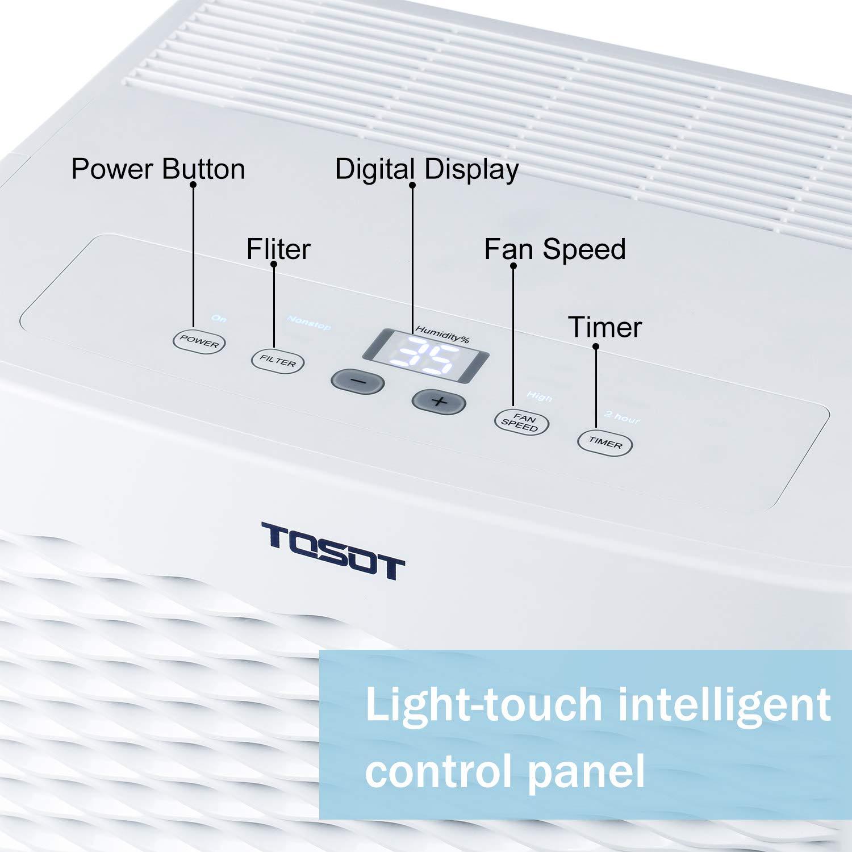 Amazon.com: Deshumidificador Tosot, certificado Energy Star ...