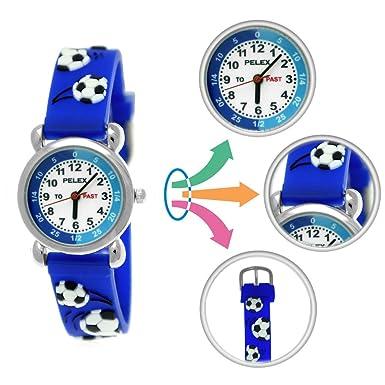 Pelex London Reloj infantil de niña de reloj Joven de reloj ...