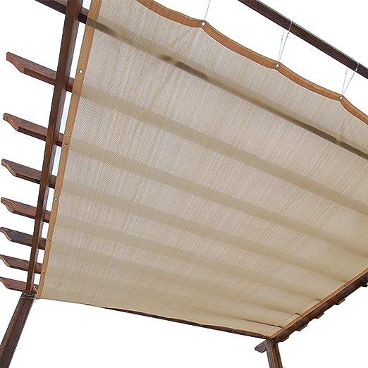 WXQIANG La Cortina de Sun Panel de la Pantalla de privacidad con Ojales, el 90%
