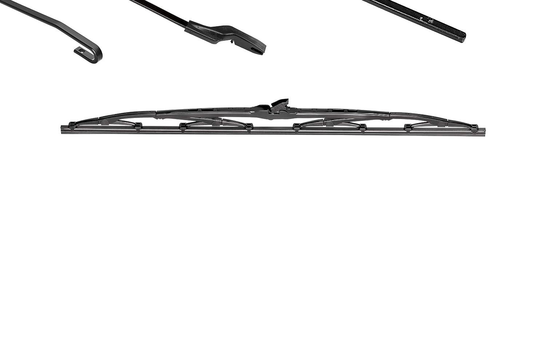 Valeo 574110 Escobillas de Limpiaparabrisas, Negro, Pequeño