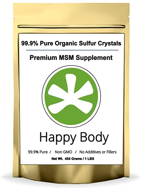 msm crystals supplement for allergies