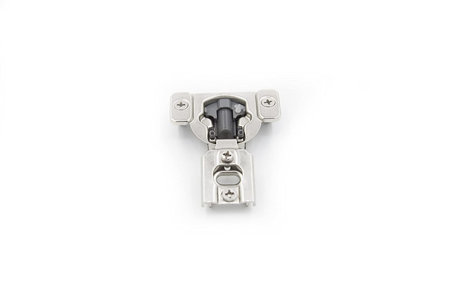 Screws Are Included Comet Pro Hardware H85 1//2 Cabinet Hinges Overlay Soft Close Nickel Plated Steel 40 Pack