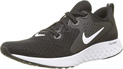 Nike Wmns Legend React, Zapatillas de Running para Mujer, Negro (Black/White 001), 38 EU: Amazon.es: Zapatos y complementos
