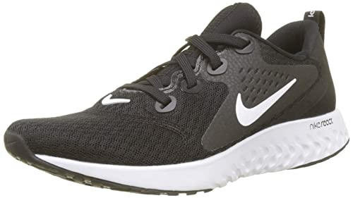 Nike Women s WMNS Legend React Running Shoes, Black