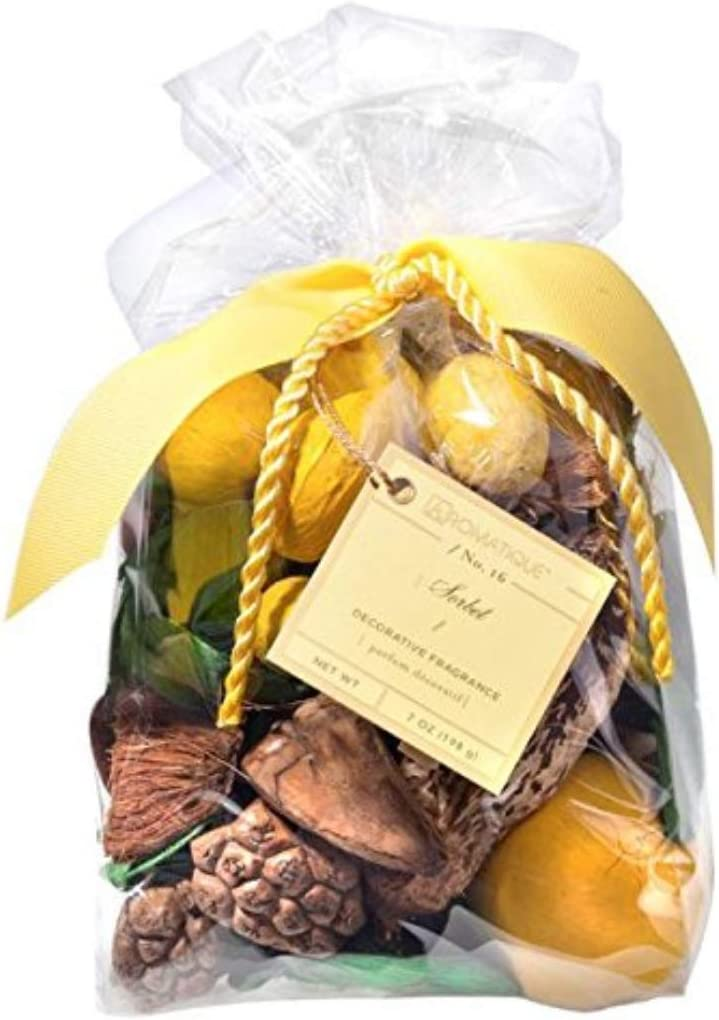 Aromatique Sorbet Decorative Fragrance 6 oz Potpourri Bag for Home Décor and Gift