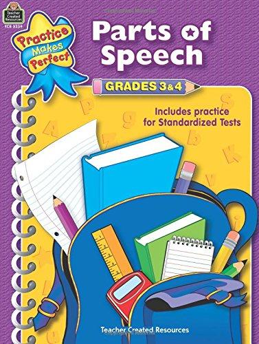 Parts of Speech Grades 3-4 (Language Arts)