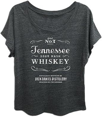 6a87137587642c Amazon.com  Jack Daniels Women s Daniel s Tennessee Whiskey Short Sleeve  T-Shirt  Clothing