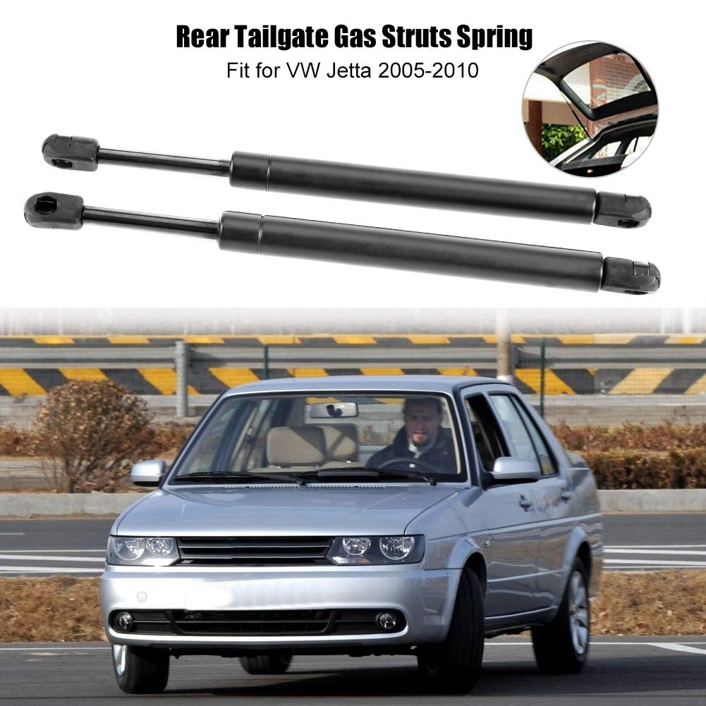 Gas Strut 1 Pair of Rear Tailgate Boot Trunk Gas Struts Support Spring for VW Jetta 2005-2010 1K5827550C.
