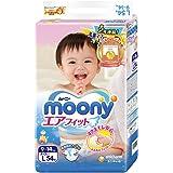 (跨境自营)(包税) MOONY 尤妮佳 标准系列 纸尿裤 大号L54片 (9-14kg)