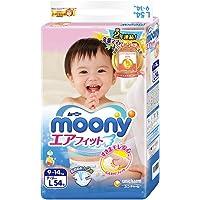 MOONY 尤妮佳 标准系列 纸尿裤 大号L54片 (9-14kg)【跨境自营】包税