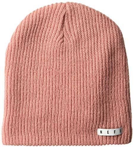 NEFF Daily Beanie Hat for Men and Women, Rosewood, One Size from NEFF