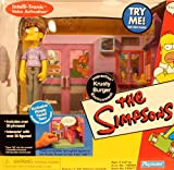 "SIMPSONS "" KRUSTY BURGER "" w/EXCLUSIVE PIMPLY FACED TEEN MIB"