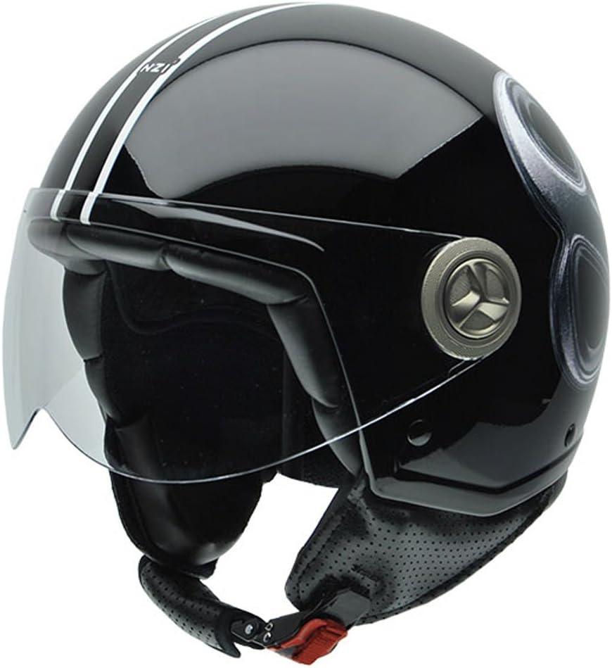 Amazon.es: NZI 050260G692 Tonup Outward Casco de Moto, Diseño Bola ...