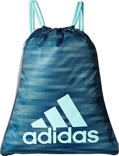 adidas Burst Sack pack, One Size, Energy Aqua Ratio/Onix/Energy Aqua