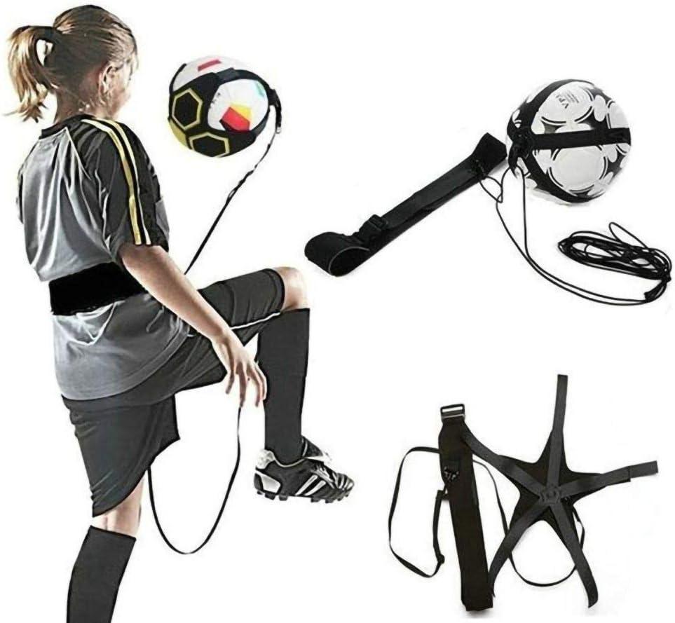 Balight Football Training Sport Support Adjustable Soccer Coach Soccer Ball Practice Belt Training Equipment Kick 1 pcs