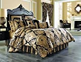 Bradshaw Black Comforter Set King By J Queen New York