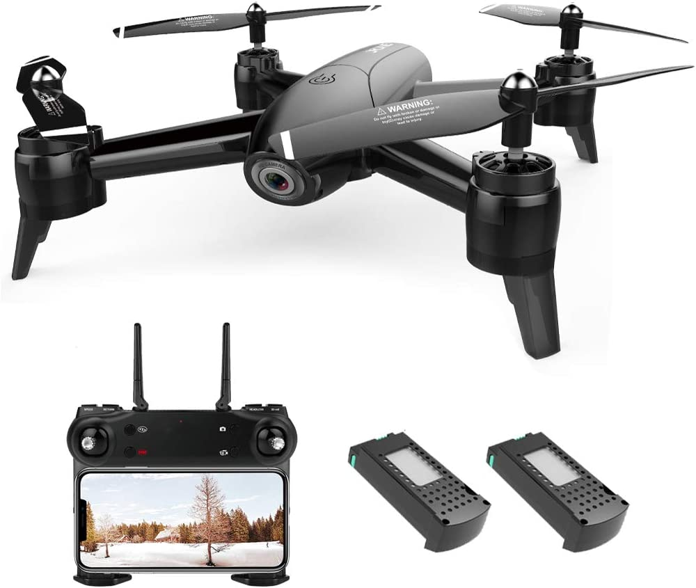 Drone with Camera 1080P HD Drones with Camera for Adults Remote Phone APP Gesture Controlled FPV Drone Real-time Video Feed Altitude Hold One-Key Return Mini RC Quadcopter for Kids Adults Beginners