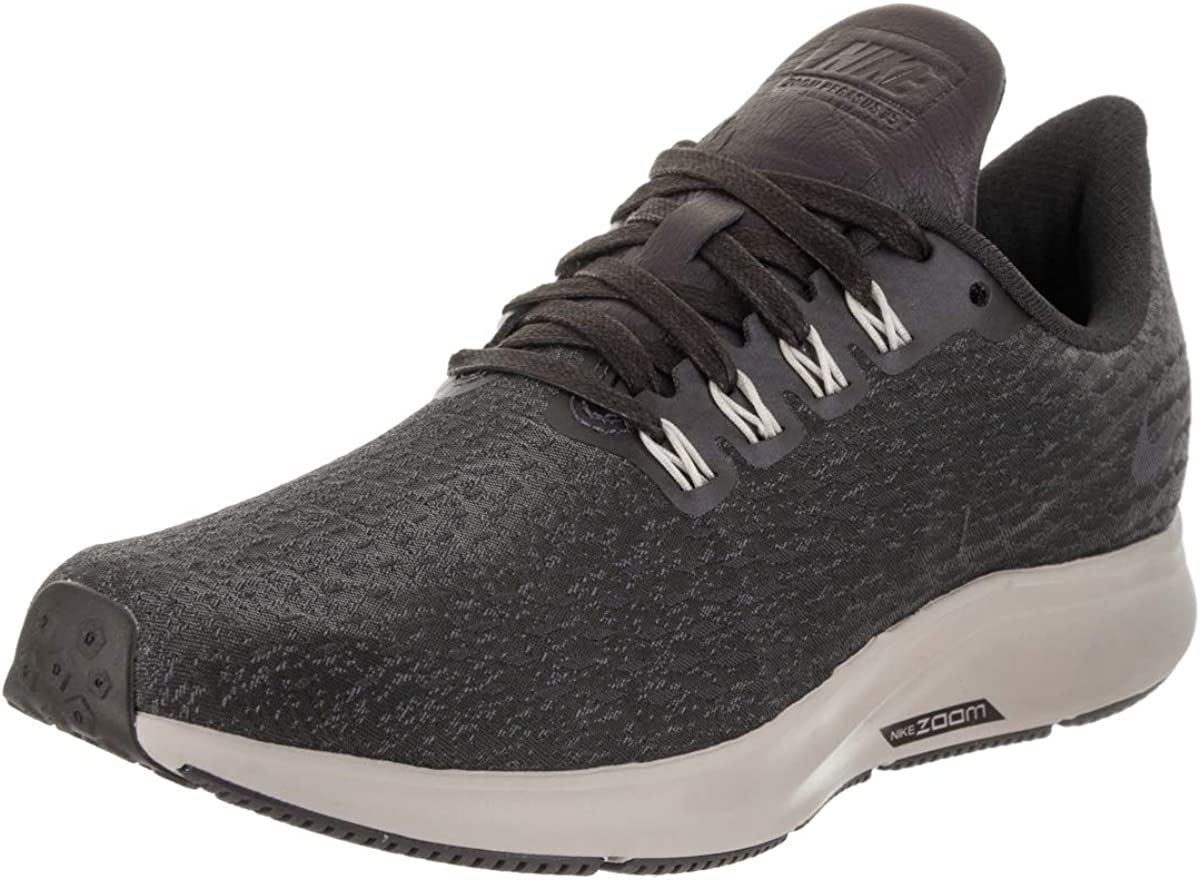 Nike Women s Air Zoom Pegasus 35 PRM Oil Grey Light Carbon Gridiron Running Shoe 7 Women US