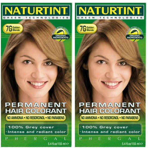 (2 Pack) - Naturtint - Hair Dye - 7G Golden Blonde | 135ml | 2 PACK BUNDLE