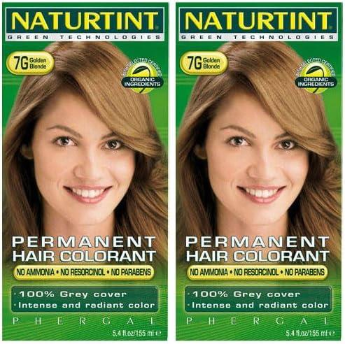 Naturtint - Tinte para el cabello, 7 g, rubio dorado, 135 ml ...