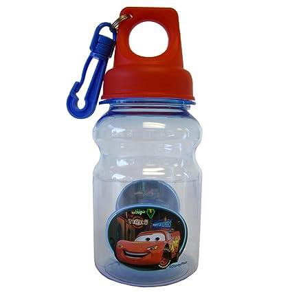 Amazon.com: Kids Cars de Pixar botella de agua con clip ...