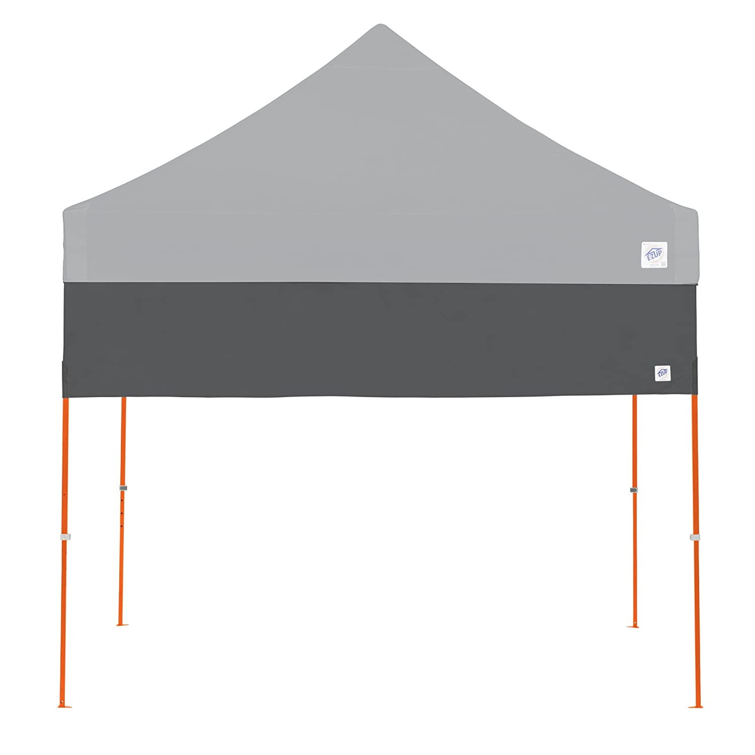 E-Z UP Recreational Half Wall Steel Grey – Fits Straight Leg 10 E-Z UP Instant Shelters