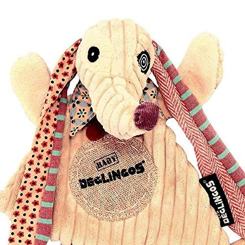 Doudou plat D/églingos Nonos Le chien