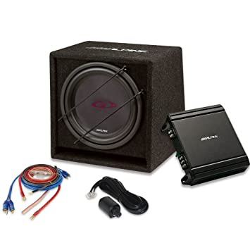 Alpine sbg-30kit Subwoofer 12 800 W + Amplificador V-Power 550 W